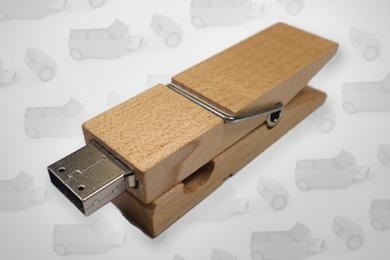USB-Stick Wäscheklammer