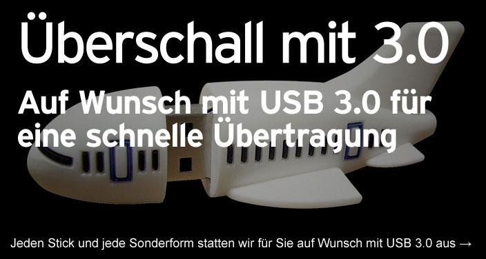 Überschall mit USB 3.0