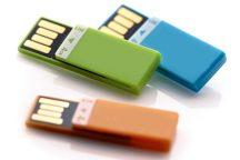 No. 40 - USB Stick Plastik mit Klammer