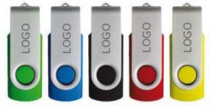 """USB Stick """"Twister mit Logo"""""""