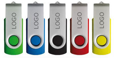 "USB Stick ""Twister mit Logo"""